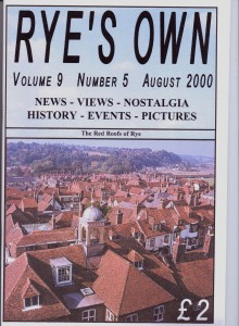 Ryes Own Cover August 2000