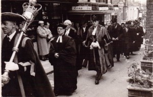 The Mayoral Procession 1959