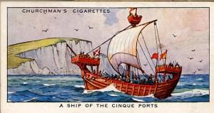 A ship of the Cinque Ports