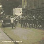 Canadians at Hythe