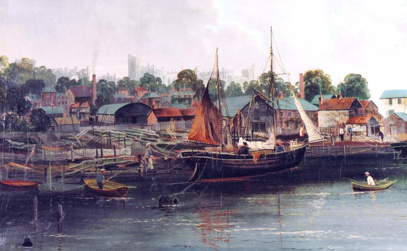 The Jane Ann of Rye in Arundel 1898