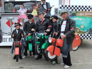 Marlon Brando and his Motorcycle Gang