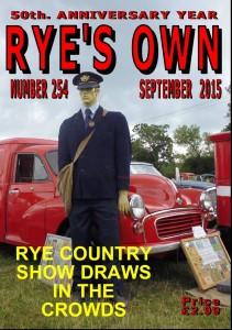 RYES OWN COVER SEPTEMBER 2015