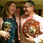 Rebecca & Steve win the 50 Titles