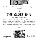 Globe Advert