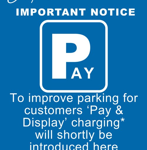 Parking Charges at Jempsons Rye Car Park