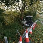 Walnut Haloween car crash etc 004