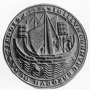 Evolution of the Sailing Ship Through Seals