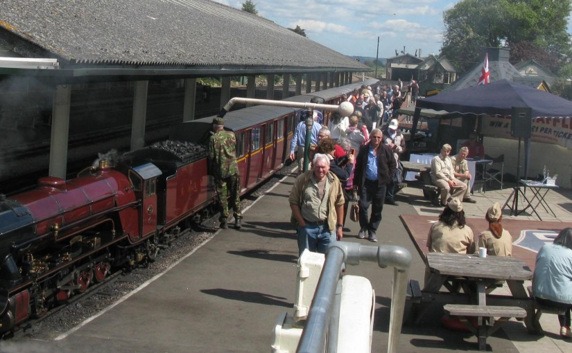 1940's Weekend at RHDR