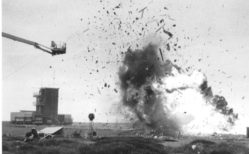 Explosion at Dungeness