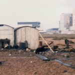 The Railway Carrages at Dungeness