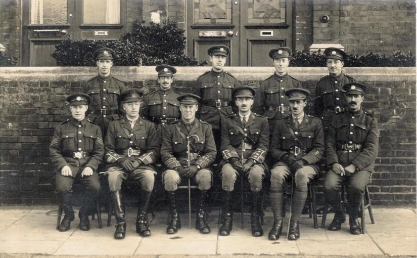 Billeting of Troops WW1
