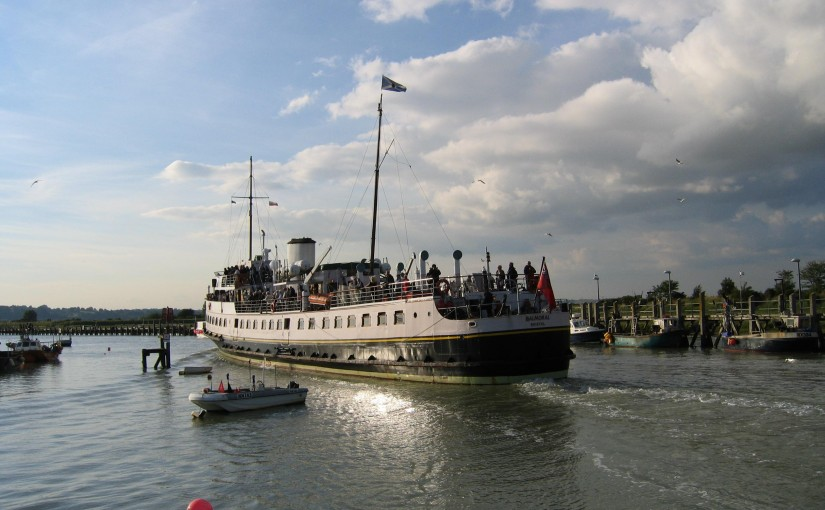 Balmoral Sails from Rye to Tower Bridge