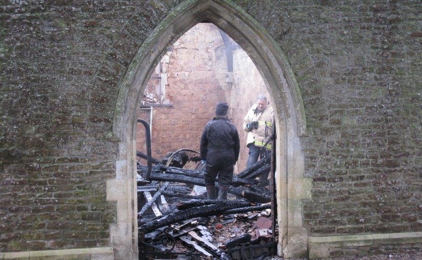 Chapel of Rest Gutted