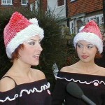 The Cheeky Girls At Rye Christmas 2002