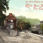 Victorian Rye Christmas Card