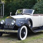 HUNTING CAR OWNED BY KING ALPHONSO