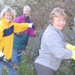 Rye in Bloom Team Clean-up