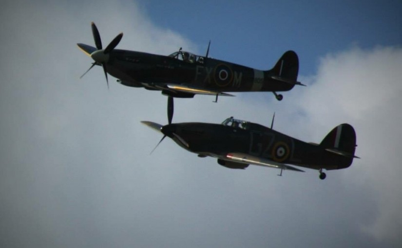 Aerial Warfare Over Rye During World War Two