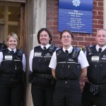 The Rye Area modern day Police Community Support Officers.