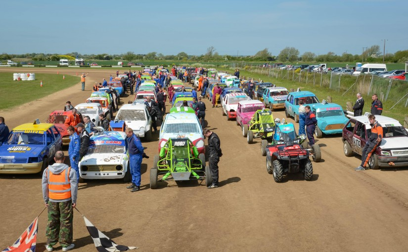 Autograss Racing on Romney Marsh