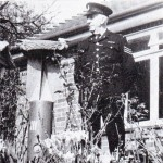 Tom Upton in Special Constable Uniform with The Bomb