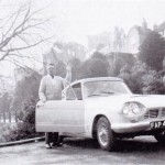 A man and his car.