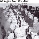 British Legion Over 65's Dine
