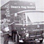 Driver Les Lane with another load of Dean's Rag Books and Toys for delivery