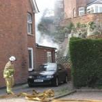 Fire at Fishmarket Road