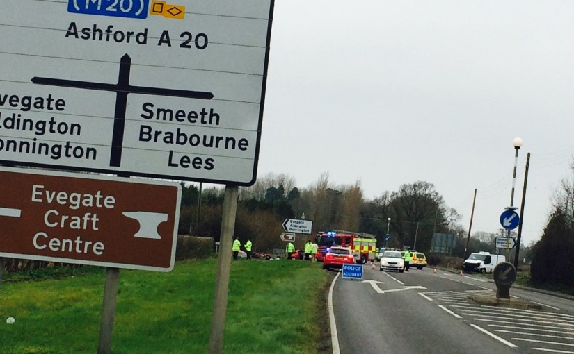 Driver Cut From Wreckage at Smeeth