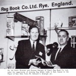 Ian Scott with the Mayor of Rye New York
