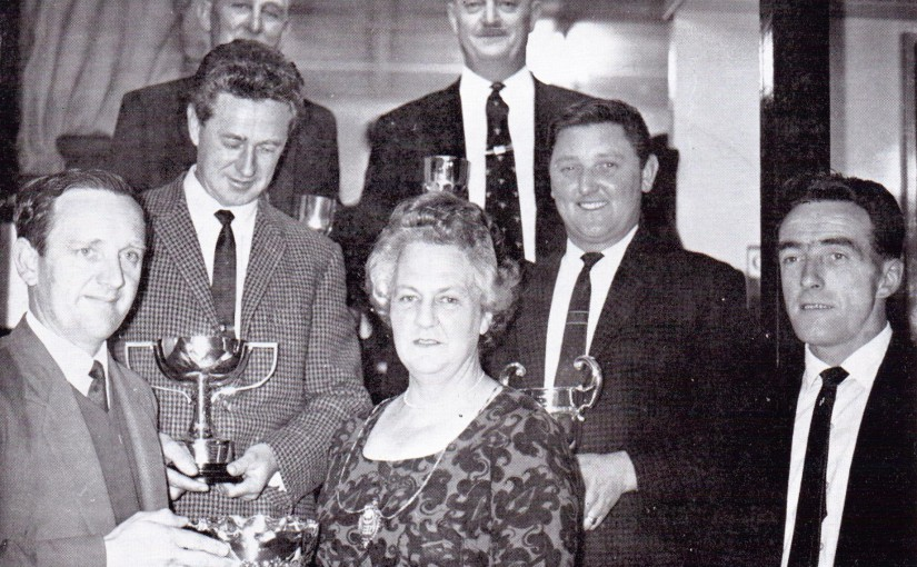 Rye British Legion Club 1966 Prize Presentation 1966