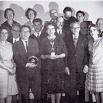 Movie Society Members with their Third Trophy