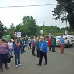 Sellindge Protest March