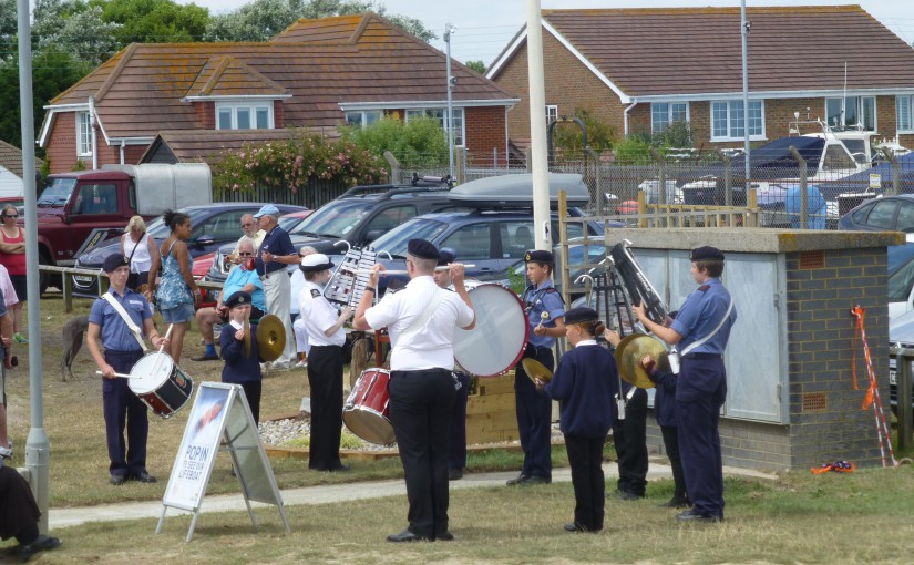 Battle of Britain Flight Salutes Littlestone Lifeboat