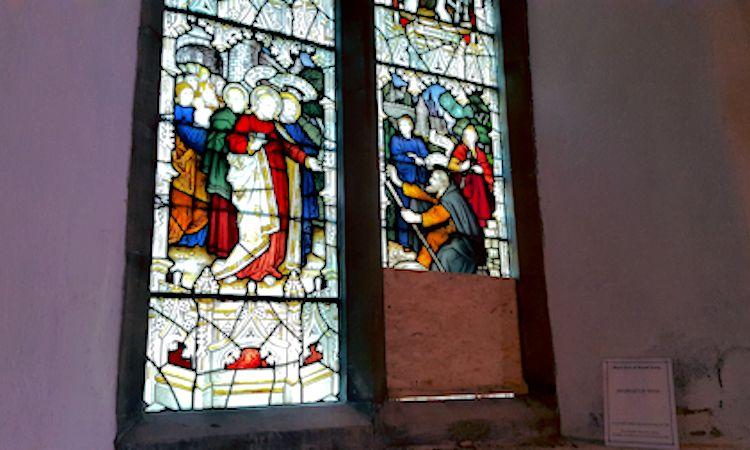 Historic window badly damaged at Rye parish church