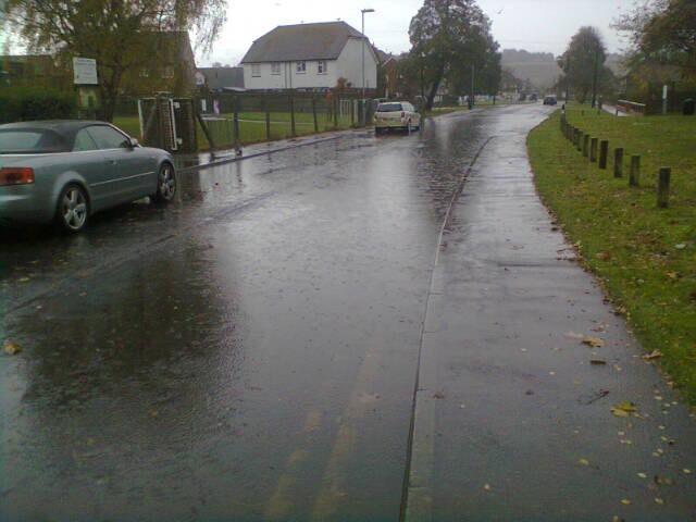 Mason Road is Flooded Again