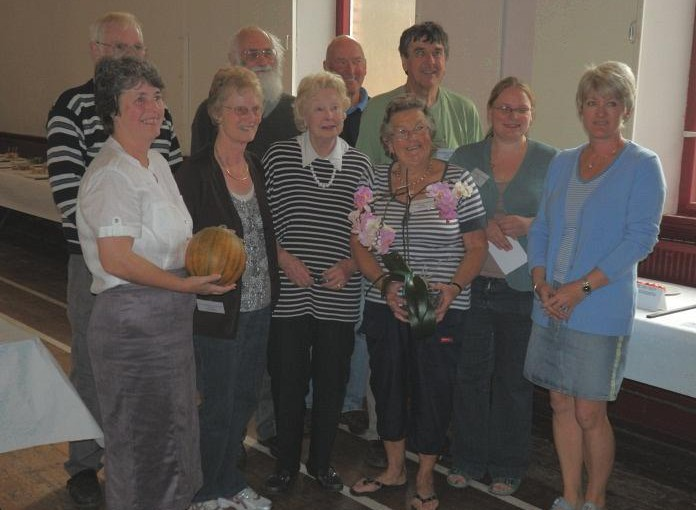 Rye Gardeners Show Off Their Produce