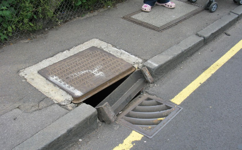 Drains Damaged In Ferry Road