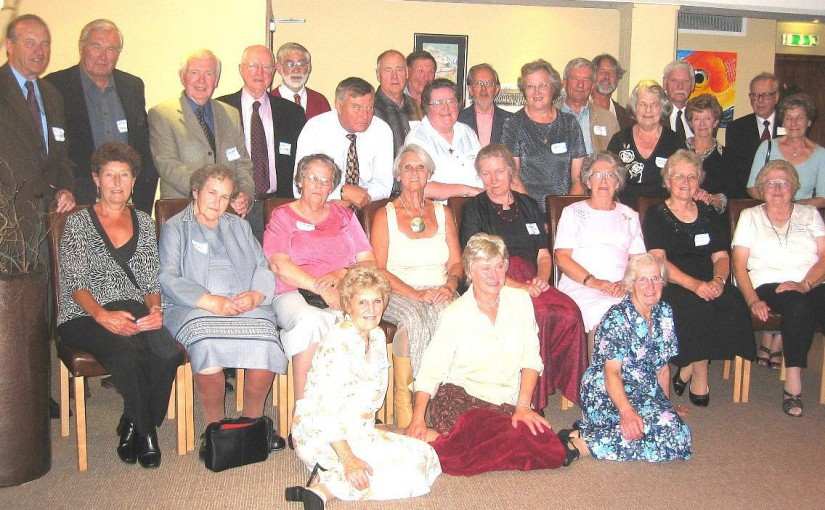 Reunion of those who left Rye Grammar School in 1955