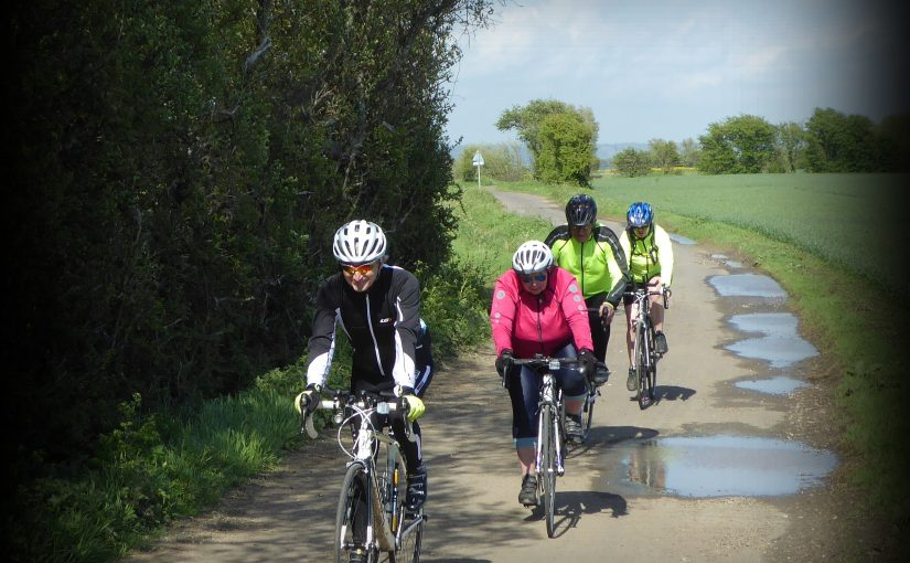 Tuesday Afternoon Riders Enjoying the Weather on May Day