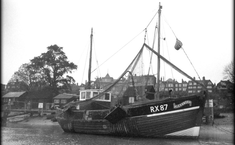 Rye fishing boats from the 1960s